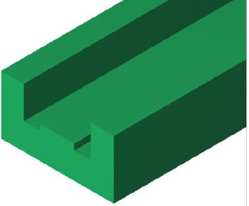 Zincir Yatağı, E1 Tip Zincir Yatağı, UCC Zincir Yatağı, Polietilen 1000 Zincir Yatağı, Polietilen Zincir Yatağı, Zincir Yatağı Profili